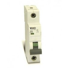 Автоматичний вимикач viko, 1P, 10A